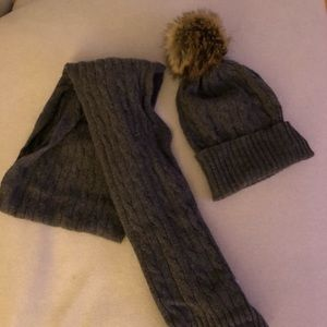 Polo Ralph Lauren cashmere hat & scarf